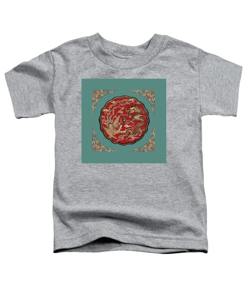 Dragon And Phoenix Toddler T-Shirt