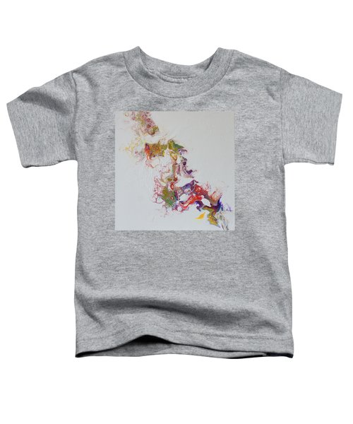 Toddler T-Shirt featuring the painting Dragon Breath I by Joanne Smoley
