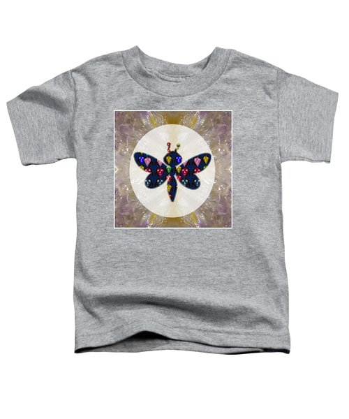 Dragon Fly Cute Painted Face Cartons All Over Donwload Option Link Below Personl N Commercial Uses Toddler T-Shirt