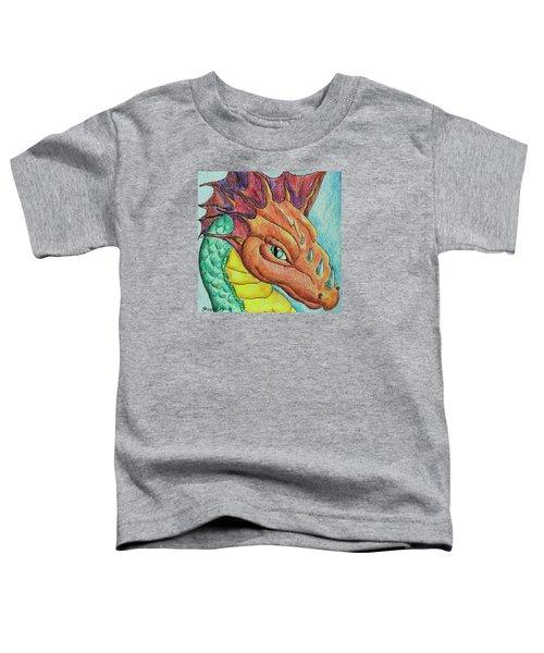Dragon Portrait Toddler T-Shirt