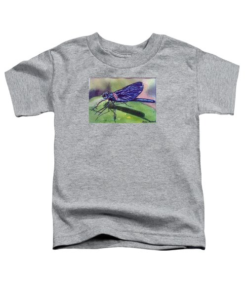 Dragonfly With Shadow Toddler T-Shirt