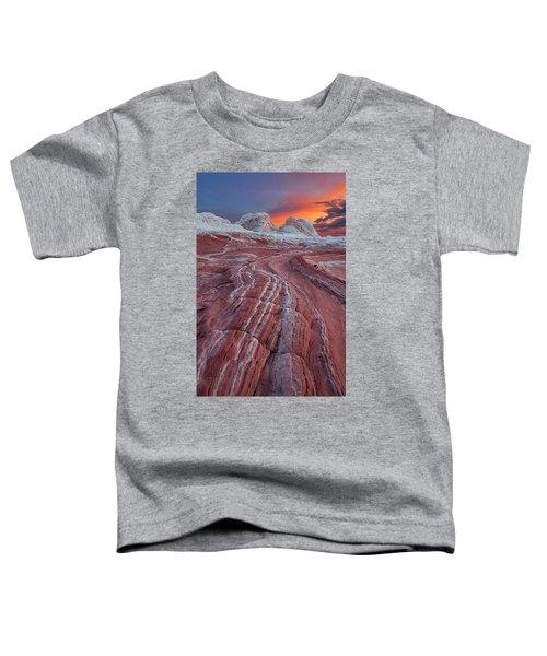 Dragons Tail Sunrise Toddler T-Shirt
