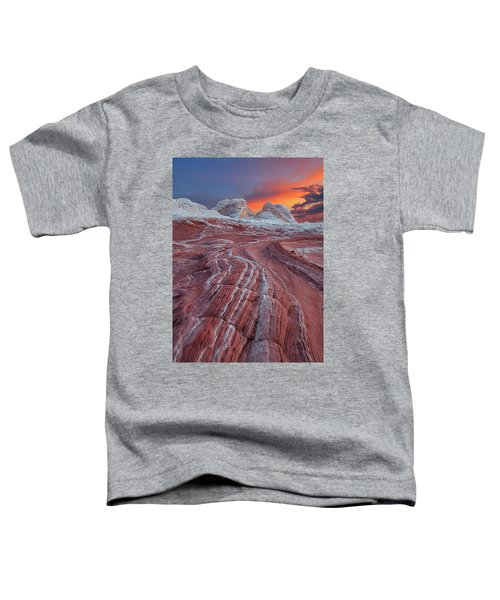 Dragons Tail Sunrise Toddler T-Shirt