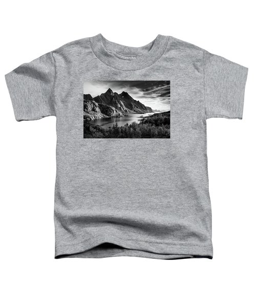 Dramatic Lofoten Toddler T-Shirt