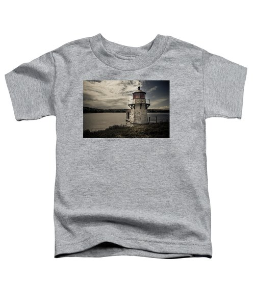 Dramatic Mid-day Shot Of Squirrel Point Toddler T-Shirt