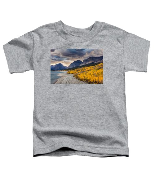 Dramatic Sunset Sky In Autumn  Toddler T-Shirt