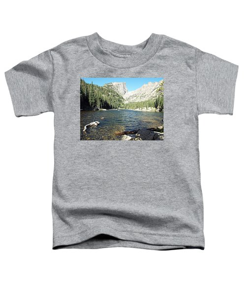 Dream Lake - Rocky Mountain National Park Toddler T-Shirt
