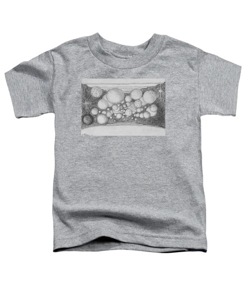 Toddler T-Shirt featuring the drawing Dream Spirits by Charles Bates