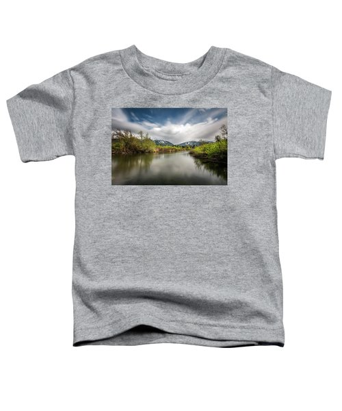 Dreamy River Of Golden Dreams Toddler T-Shirt