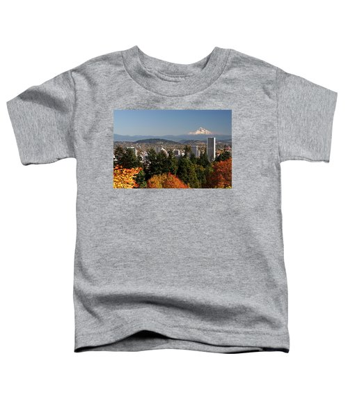 Dressed In Fall Colors Toddler T-Shirt