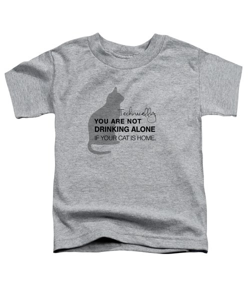 Drinking With Cats Toddler T-Shirt