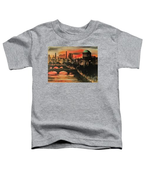 Dublin Sunset Toddler T-Shirt