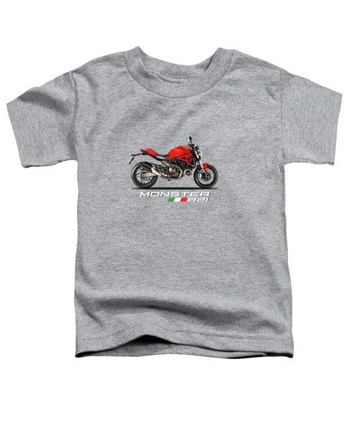 Ducati Monster 821 Toddler T-Shirt