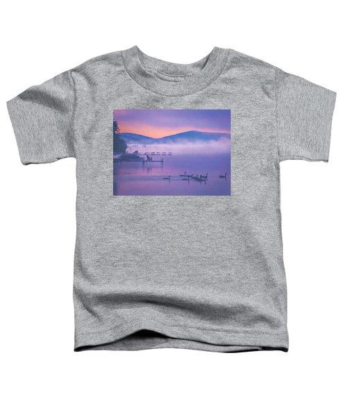 Ducks Under Fog Toddler T-Shirt