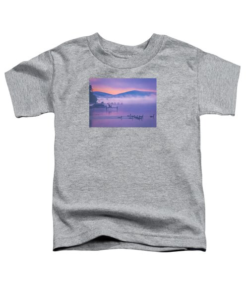 Ducks Under Fog Toddler T-Shirt