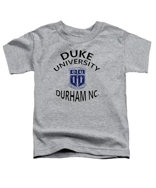 Duke University Durham Nc Toddler T-Shirt