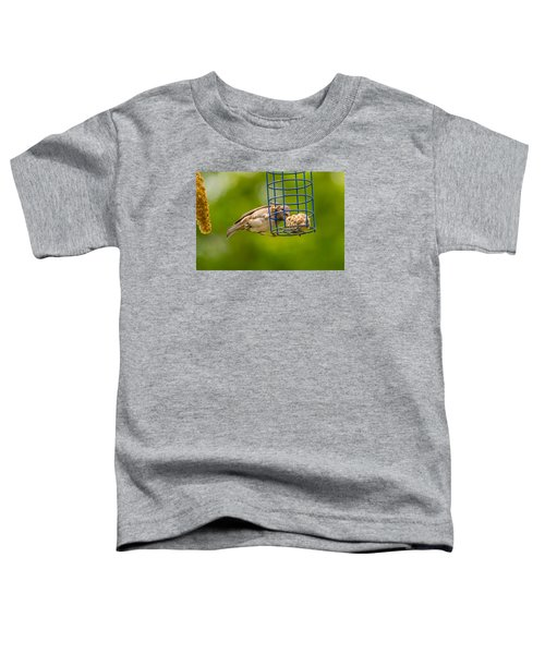 Dunnok Eating Toddler T-Shirt