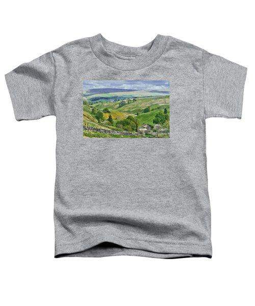 Durham Dales Countryside - Weardale Toddler T-Shirt
