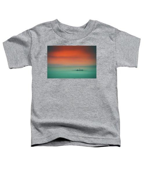 Dusk On The Lake Toddler T-Shirt