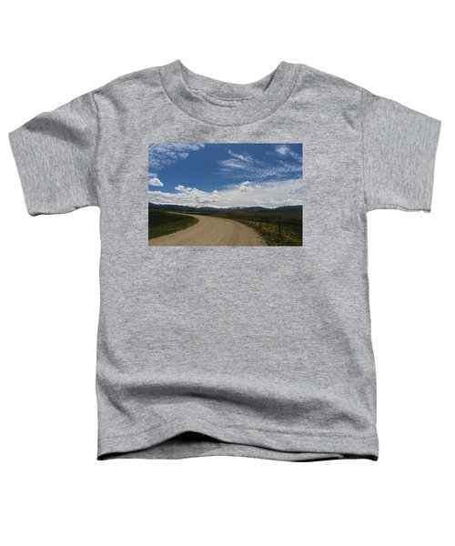 Dusty  Road Toddler T-Shirt