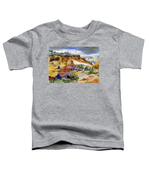Dutch Flat Diggin's Gold Toddler T-Shirt
