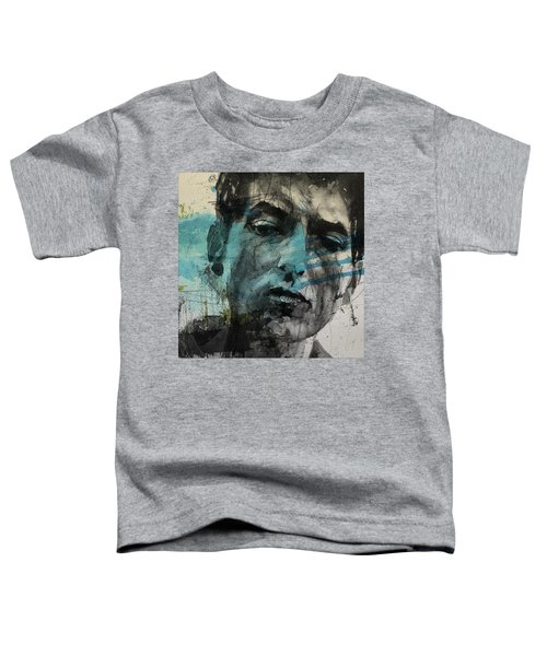 Dylan - Retro  Maggies Farm No More Toddler T-Shirt by Paul Lovering