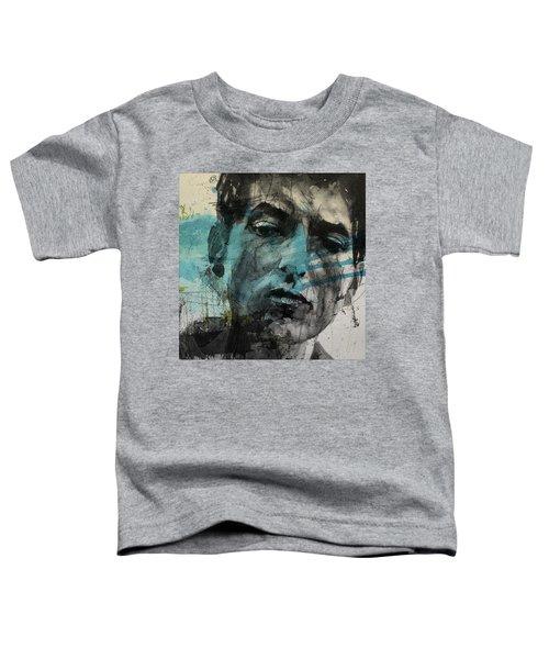 Dylan - Retro  Maggies Farm No More Toddler T-Shirt