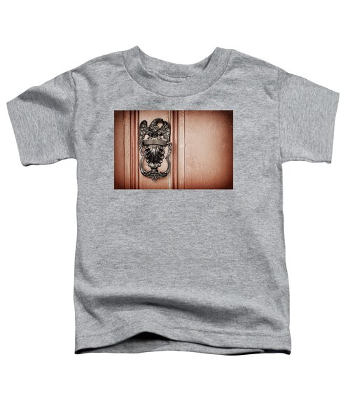 Eagle Door Knocker Toddler T-Shirt