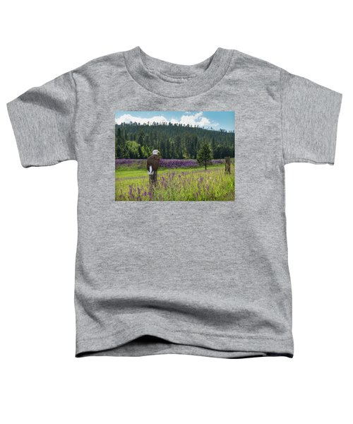 Eagle On Fence Post Toddler T-Shirt