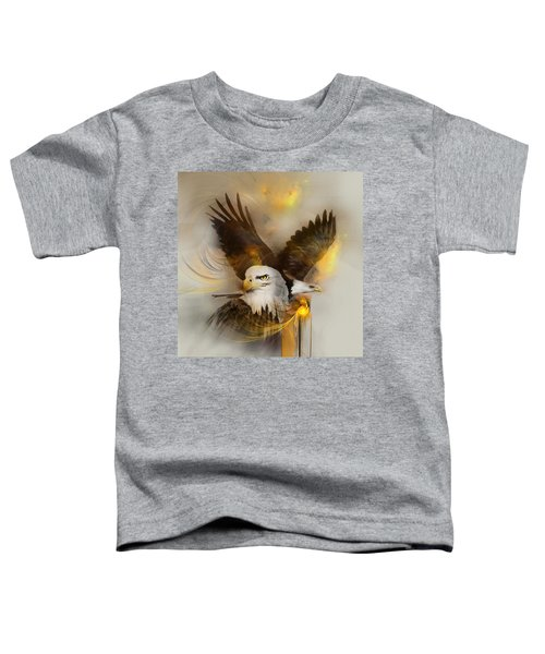 Eagle Pair Toddler T-Shirt