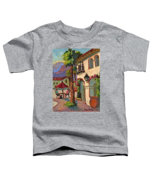 Early Morning Coffee At Old Town La Quinta Toddler T-Shirt