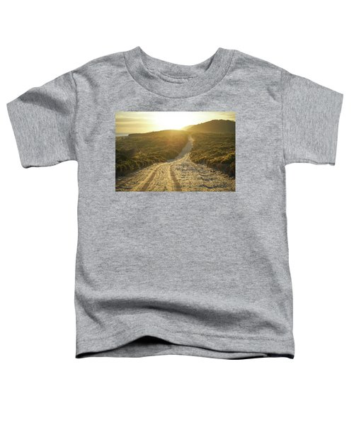 Early Morning Light On 4wd Sand Track Toddler T-Shirt