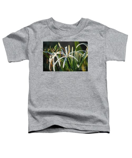 Early Morning Lily Toddler T-Shirt