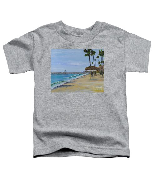 Early Morning On The Beach Toddler T-Shirt