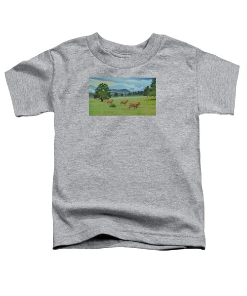 Early Spring Evergreen Toddler T-Shirt