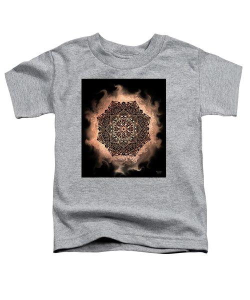 Earthy Mandala Toddler T-Shirt