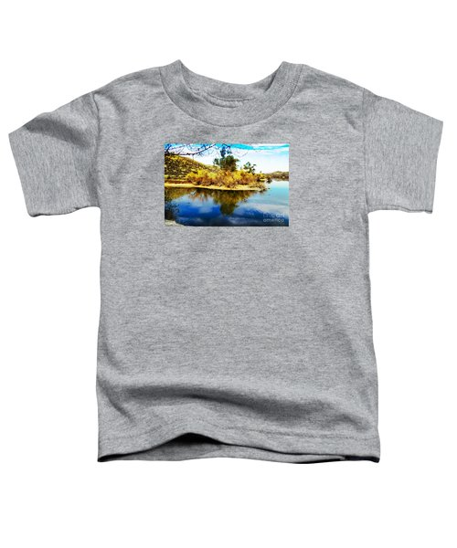 East Bay, Canyon Lake, Ca Toddler T-Shirt