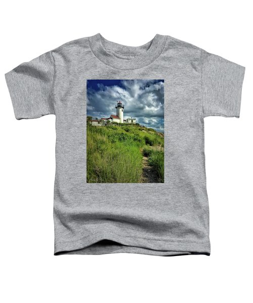 Toddler T-Shirt featuring the photograph East Point Lighthouse by Andrea Platt
