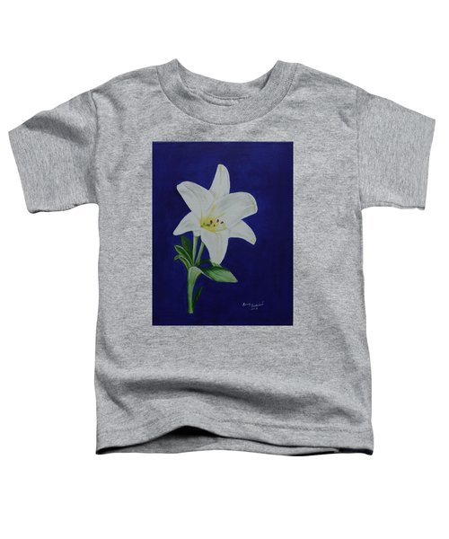 Easter Lily Toddler T-Shirt