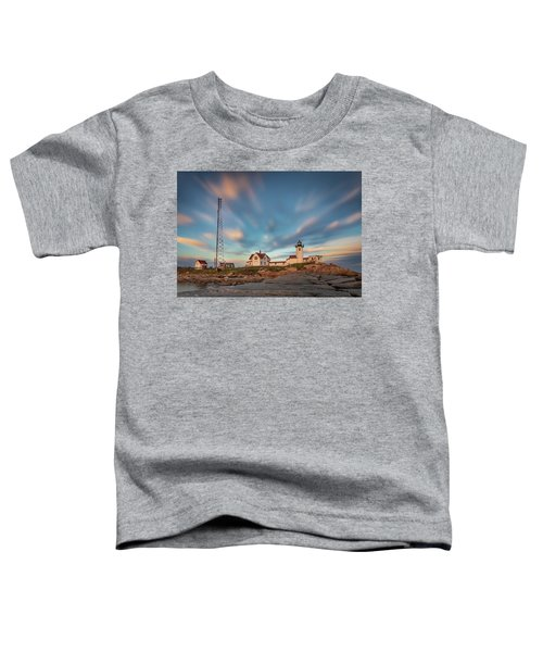 Eastern Point Lighthouse At Sunset Toddler T-Shirt