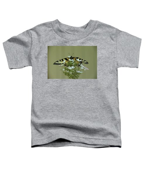 Eastern Tiger Swallowtail Butterfly Toddler T-Shirt