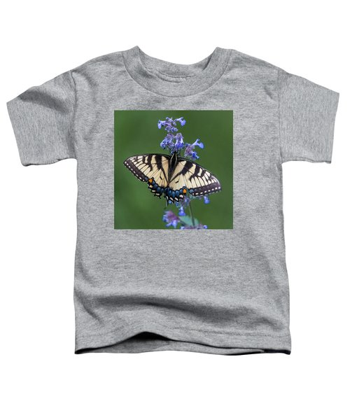 Eastern Tiger Swallowtail Wingspan Toddler T-Shirt