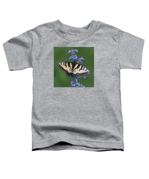 Eastern Tiger Swallowtail Wingspan Toddler T-Shirt