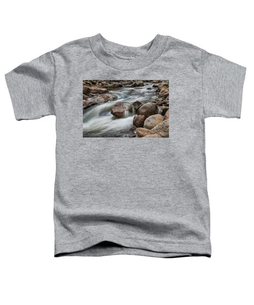 Toddler T-Shirt featuring the photograph Easy Flowing by James BO Insogna