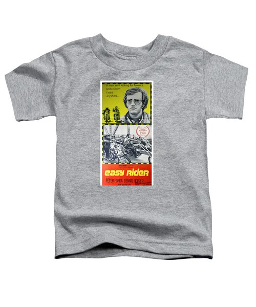 Easy Rider Movie Lobby Poster  1969 Toddler T-Shirt