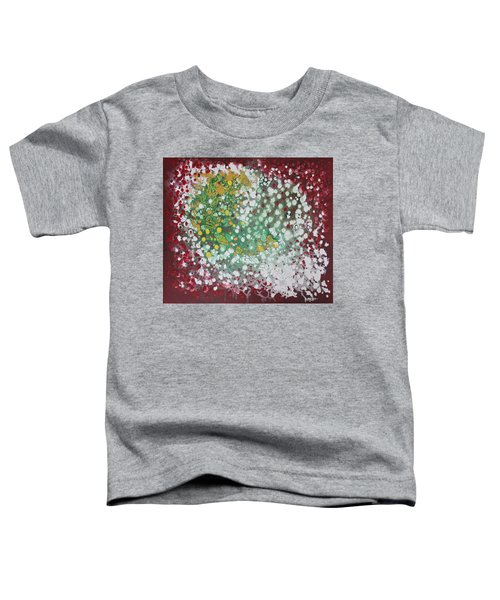 Toddler T-Shirt featuring the painting Ebola Contained by Antonio Romero