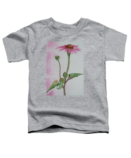 Echinacea Toddler T-Shirt