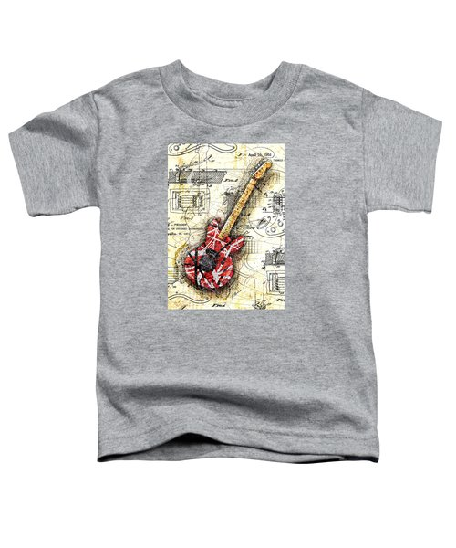 Eddie's Guitar II Toddler T-Shirt by Gary Bodnar