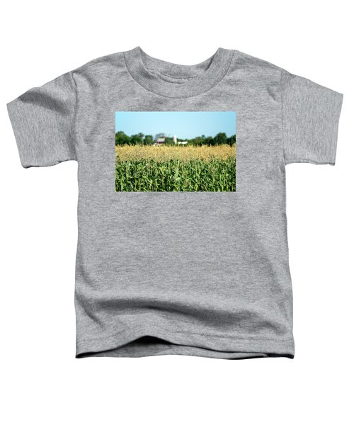 Edge Of Field Of Corn Toddler T-Shirt