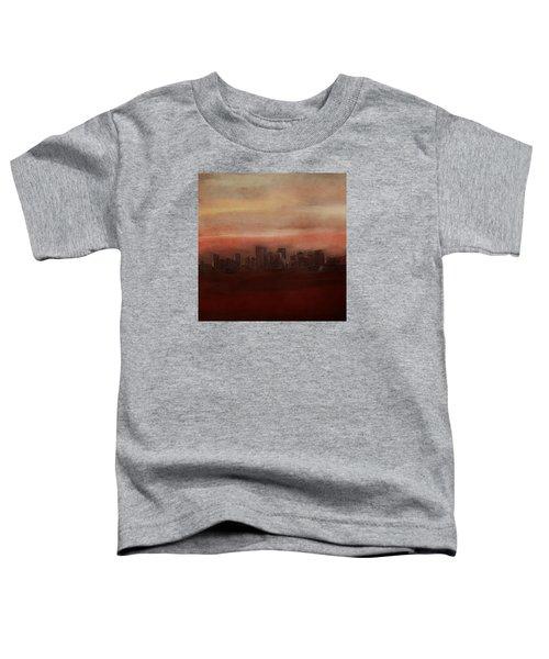 Edmonton At Sunset Toddler T-Shirt